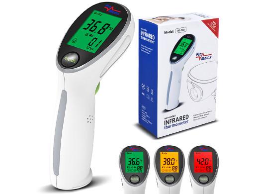 Termometr lekarski bezdotykowy na podczerwień Promedix PR-960