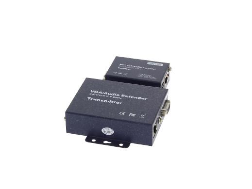 Extender VGA+AU/UTP