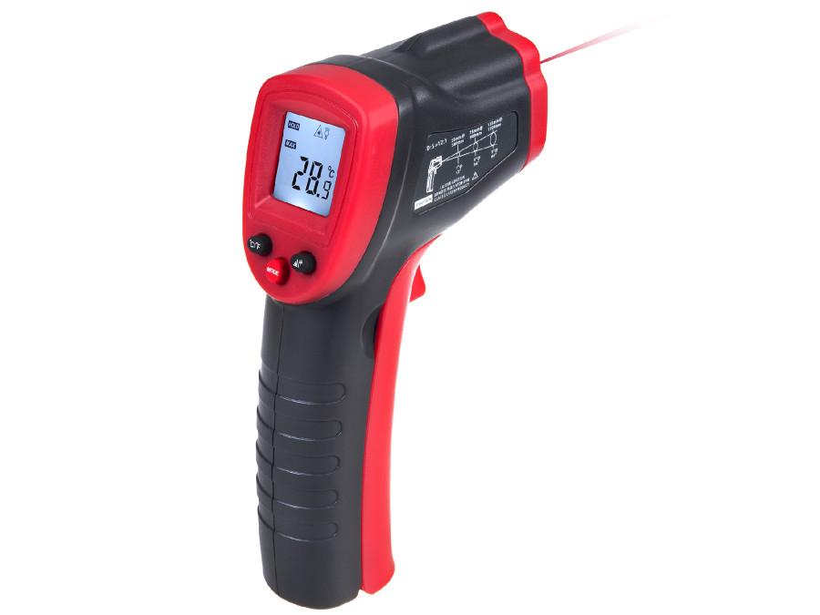 Pirometr termometr na podczerwień, bezdotykowy termometr laserowy Maclean Energy MCE320
