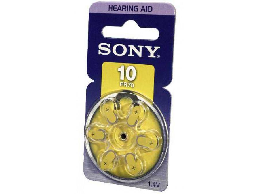 Bateria  PR-10 do aparatu słuchowego Sony