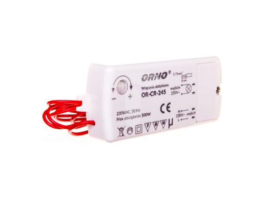 Włącznik dotykowy OR-CR-245 500W Orno