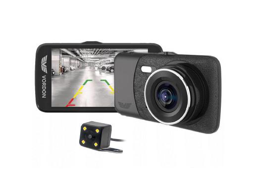 Wideorejestrator 2w1 z kamerą cofania Vordon Hawk DVR-400