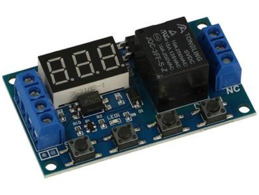 Moduł przekaźnika czasowego A-RT-0.1sec-999min 6-30V 10A
