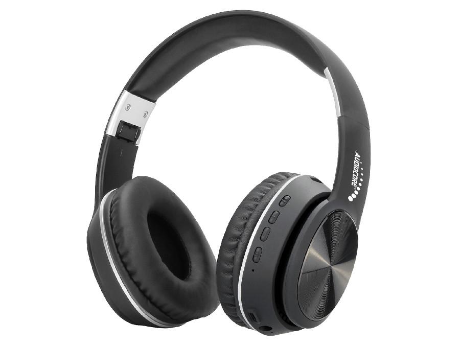 Bezprzewodowe słuchawki nauszne bluetooth V5.0+EDR Audiocore AC705 czarne