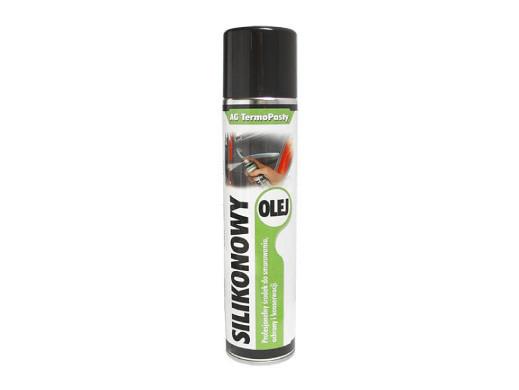 Spray Olej silikonowy 300ml AG