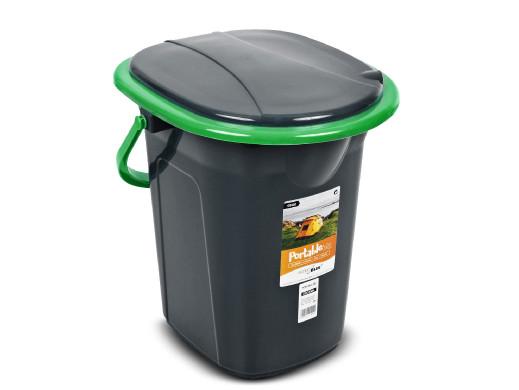 Toaleta turystyczna GreenBlue GB320BG czarno-zielona
