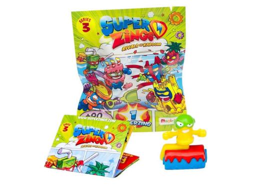 Zestaw 2 figurek SuperZings DuoPack seria3 mix