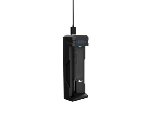 Ładowarka do akumulatorów 18650 SC1 zasilanie USB  Xtar