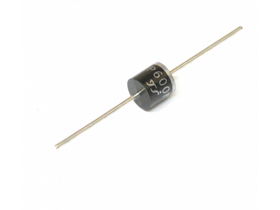 Dioda prostownicza P600M 6A 1000V