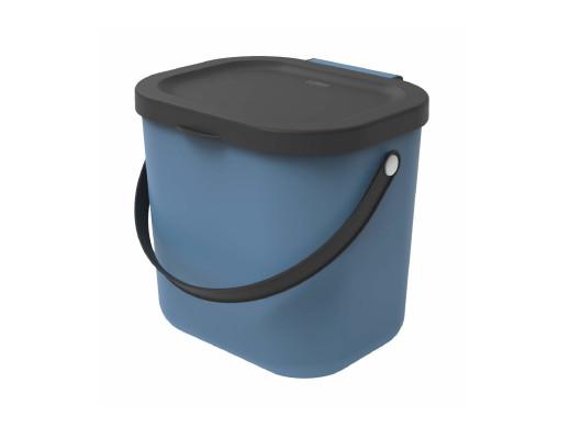 Kosz do segregacji Rotho Albula 6L niebieski