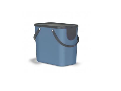 Kosz do segregacji Rotho Albula 25L niebieski