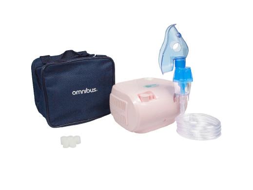 Inhalator BR-CN116B Omnibus pudrowy róz
