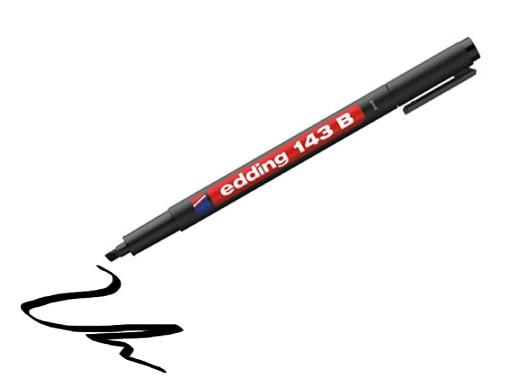 Marker do rysowania ścieżek grubość 1-3mm Edding 143B