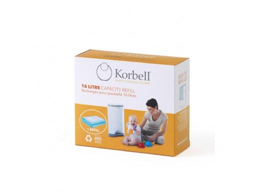 Wkład worek Refill do kosza Korbell 16L 3szt