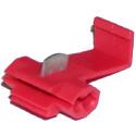 Szybkozłącze samochodowe 601060 czerwone do żył o przekroju 0,25-1,65mm2