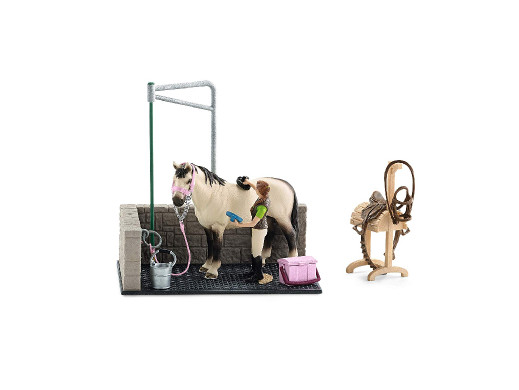 Zestaw Schleich Myjnia dla konia Horse Club 42104