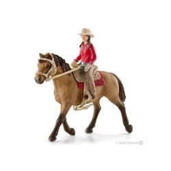 Figurka Schleich Kowbojka