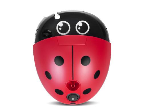 Inhalator dla dzieci Promedix PR-821 biedronka, zestaw nebulizator, maski, filterki
