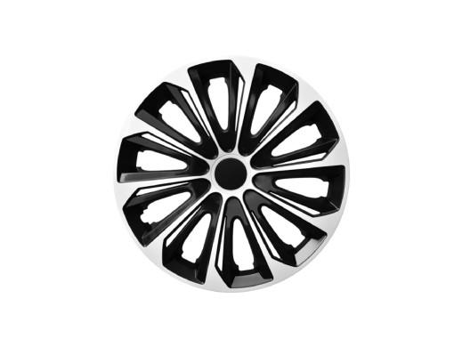"Kołpak 16"" STRONG Duocolor biało-czarny 4szt"