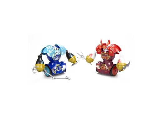 Zestaw robotów interaktywnych Silverlit Robo Kombat Samurai (2pak)