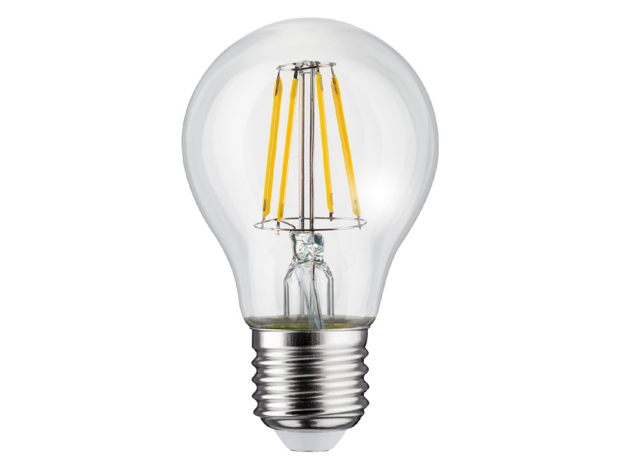 Żarówka filamentowa LED E27, 11W  230V  Maclean Energy MCE280 WW ciepła biała 3000K 1500lm retro edison ozdobna A60