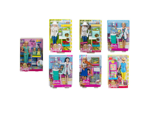 Barbie Kariera zestaw mix