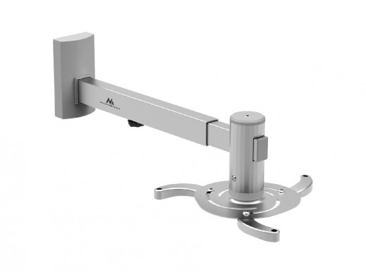 Uchwyt ścienny do projektora Maclean MC-516 S 480-660mm 10kg srebrny POSERWISOWY Produkt sprawny, kompletny, delikatne ślady mon
