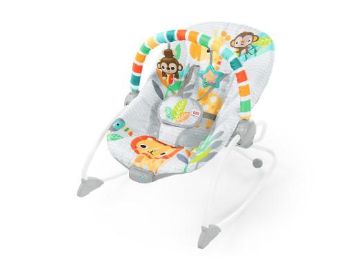 Bright Starts Leżaczek Safari Blast Infant to Toddler Rocker