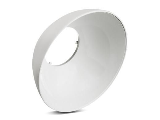 Klosz Maclean, Odbłyśnik, Do magazynowych żarówek LED 30W, CW, Materiał: PC, MCE415