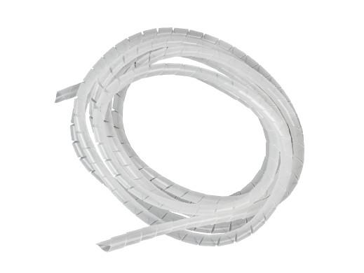 Osłona na kable Maclean, Maskująca, (8.7*10mm), 3m, Transparentna spirala, MCTV-685T