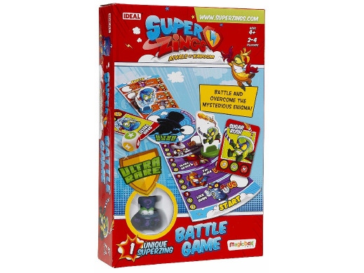 Gra planszowa SuperZings Battle Game PL