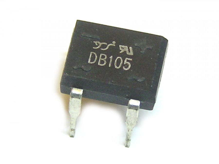 Mostek prostowniczy 1A 1000V DIP 4 prostokąt