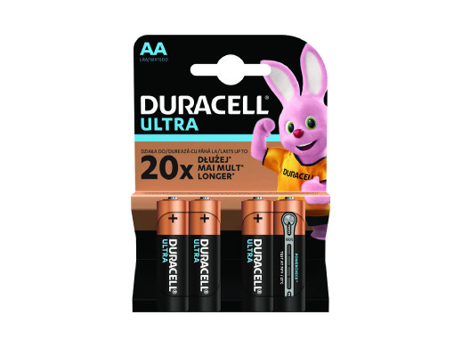 Bateria R-06 AA MX1500 ultra power Duracell