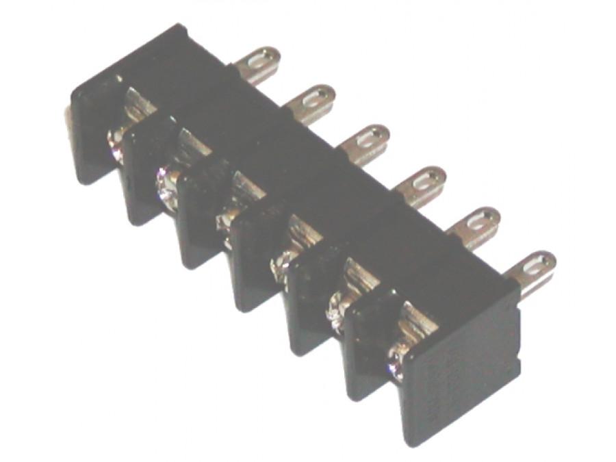 Listwa zaciskowa 835B 6PIN na śrubki montażowa