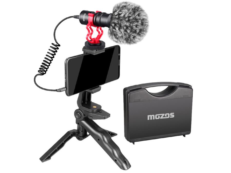 Mikrofon kierunkowy do DSLR / telefonu Mozos MKIT-600PRO