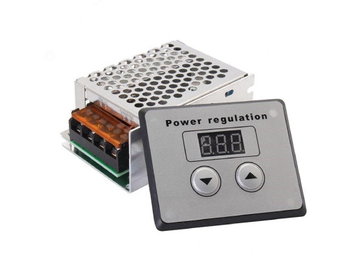 Regulator napięcia 230V 4000W Zakres regulacji: AC sterowanie cyfrowe