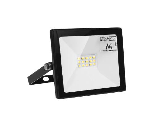 Naświetlacz LED Maclean, Slim 10W, 800lm, Cold White (6000K), IP65, PREMIUM, MCE510