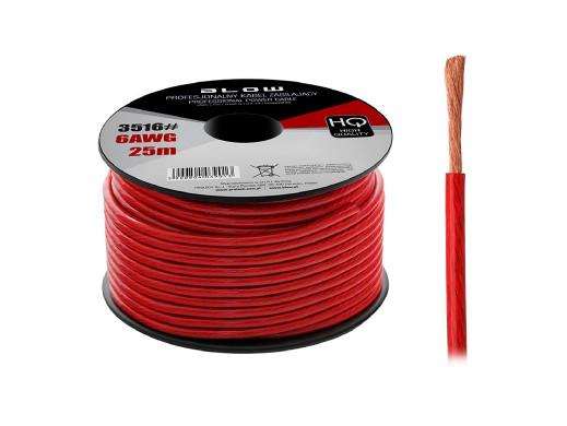 Kabel power 6AWG cca...