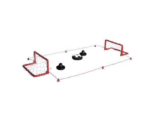 Latająca piłka Hama Hoverball zestaw bramki odbijaki