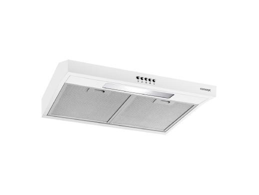 Okap podszafkowy 60cm Concept OPP1260WH biały