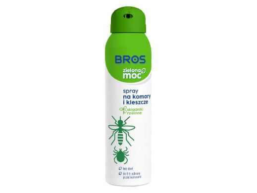 Spray na komary i kleszcze Bros Zielona Moc 90ml