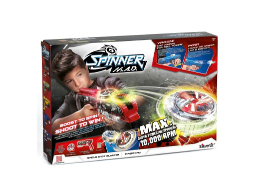 Wyrzutnia spinnerów Spinner MAD Single Shot Blaster mix