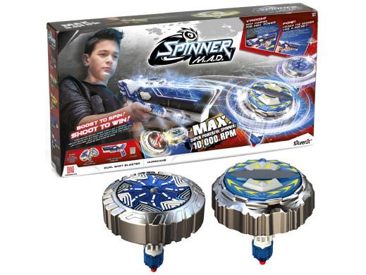 Wyrzutnia spinnerów Spinner MAD Dual Shot Blaster Hurricane