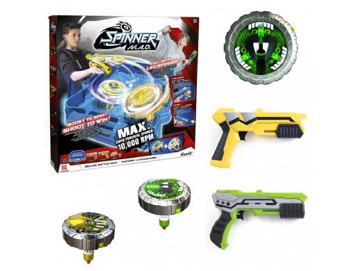 Zestaw 2 wyrzutni spinnerów Spinner MAD Deluxe Battle Pack