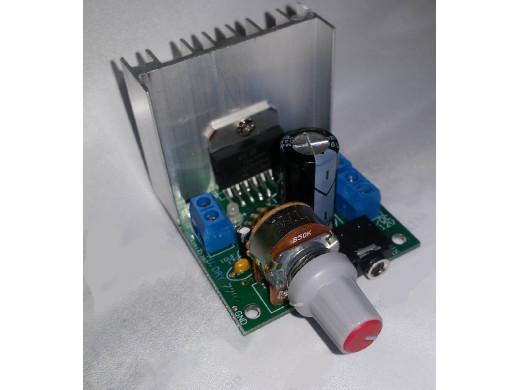 Wzmacniacz audio 2x15W TDA7297  moduł Napięcie zasilania: 6-18V
