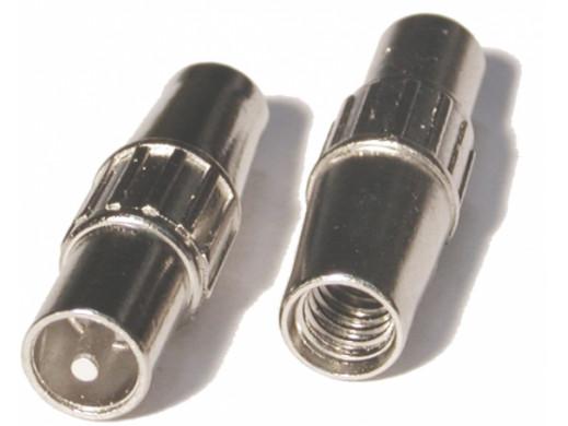 Wtyk antenowy kablowy prosty TELMOR