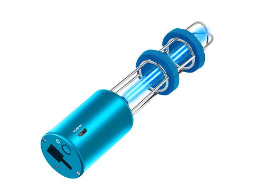 Lampa bakteriobójcza sterylizacyjna 2w1 OZONE/UV-C Promedix PR-210 C niebieska