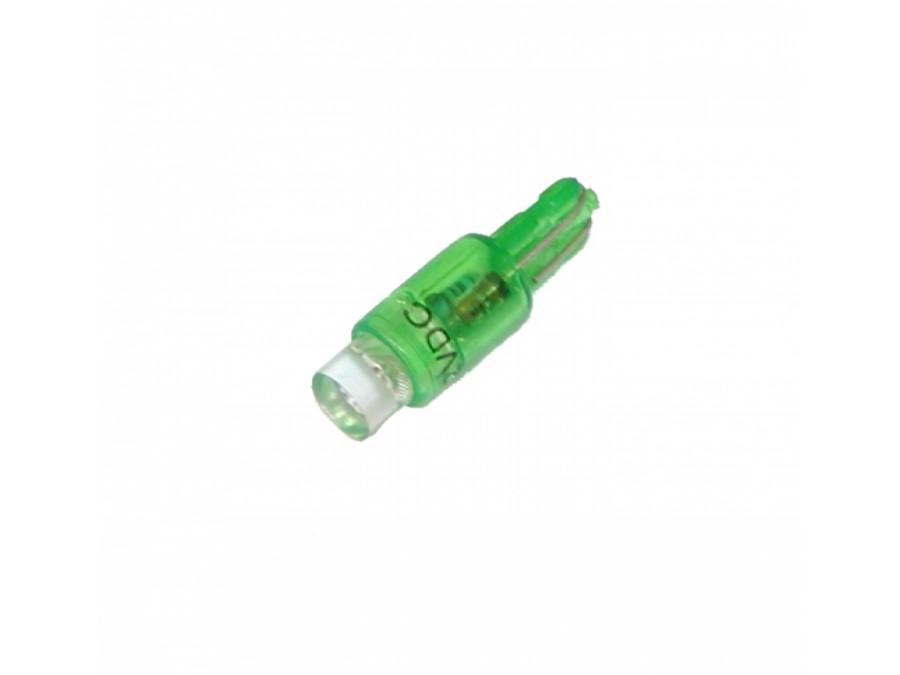 Dioda LED samochodowa 5mm 12V zielona