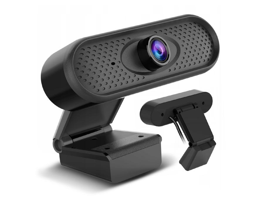 Kamerka internetowa USB  Nano RS, HD 1080P (1920x1080) z wbudowanym mikrofonem, długość przewodu 1.7m, 30fps, RS680