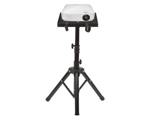 Przenośny stand Maclean, dla projektora, wykonany ze stali, możliwość regulacji wysokości, 1,2m, MC-920